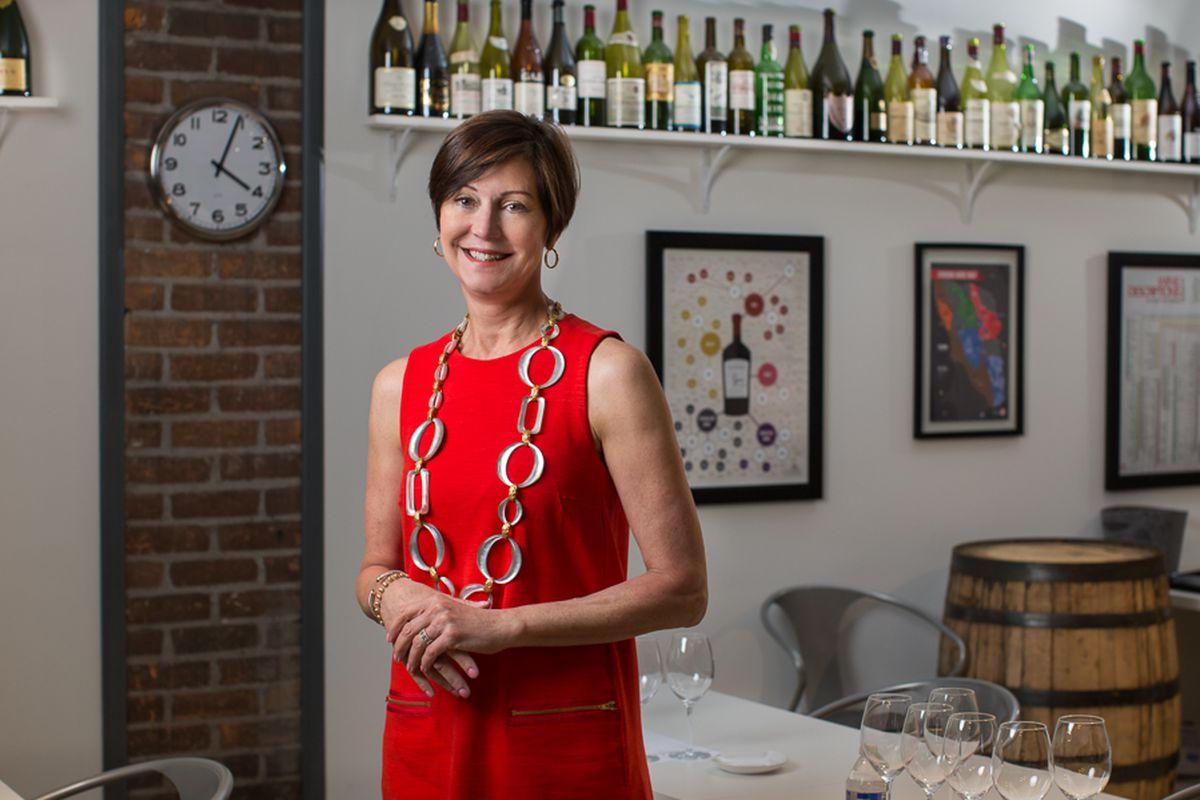 Mindy Lopus, Detroit Wine School.