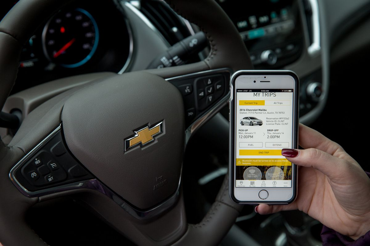 Gm Launches Maven A Car Sharing Service To Compete With Zipcar