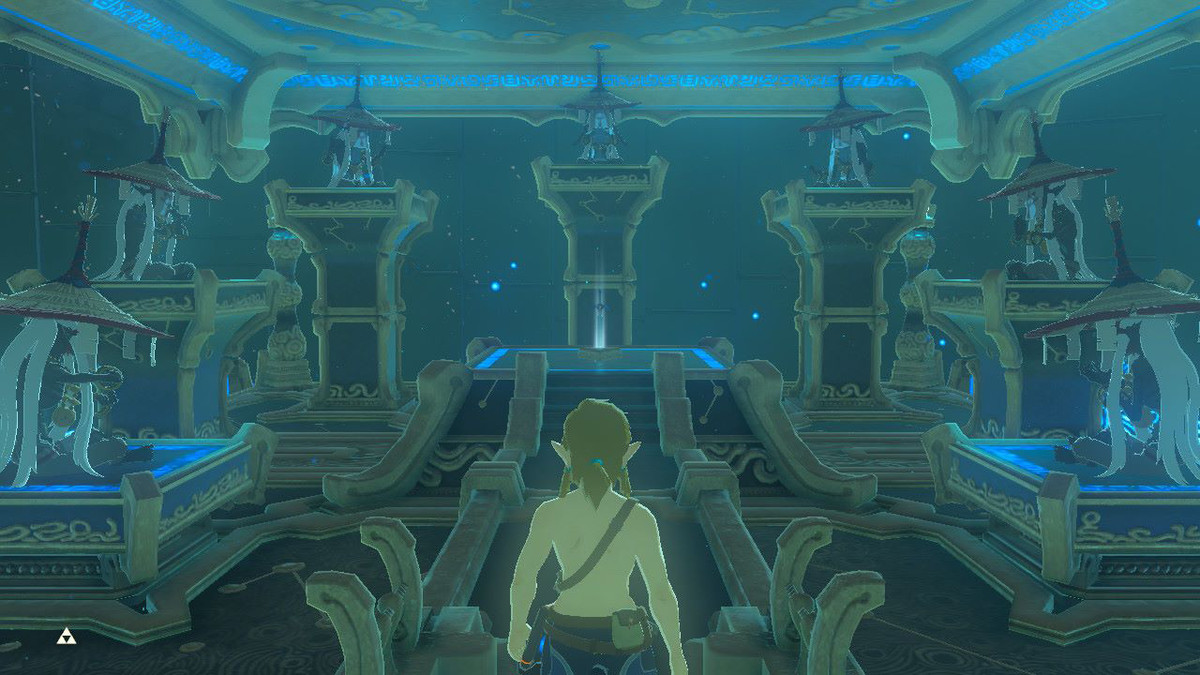 Breath of the Wild's nod to Ocarina of Time's sages is