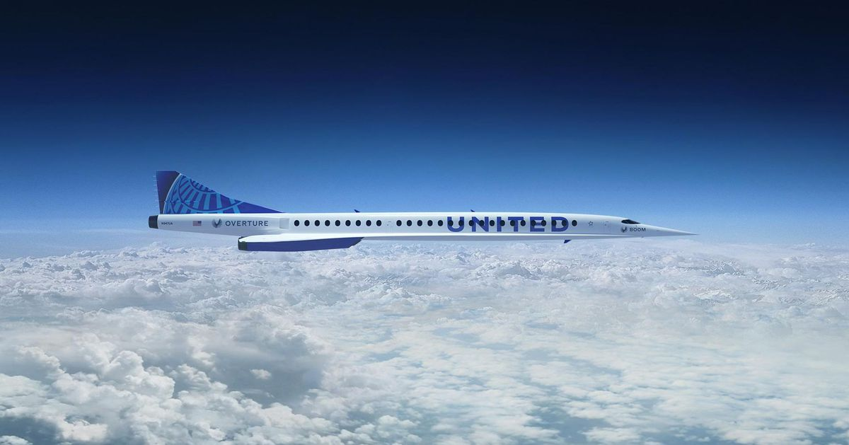 United Airlines is buying 15 supersonic aircraft from Boom Supersonic – The Verge