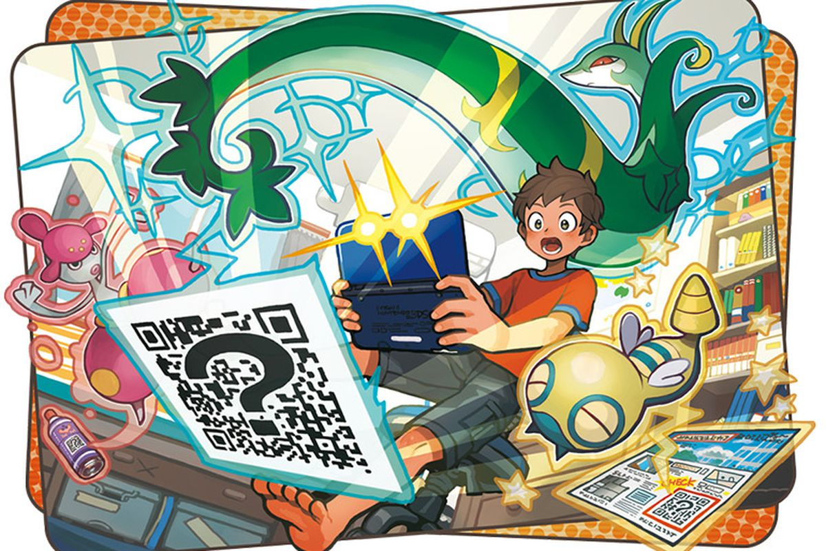 ca4c70644 These Pokémon Sun and Moon QR codes will help you fill out your Pokédex