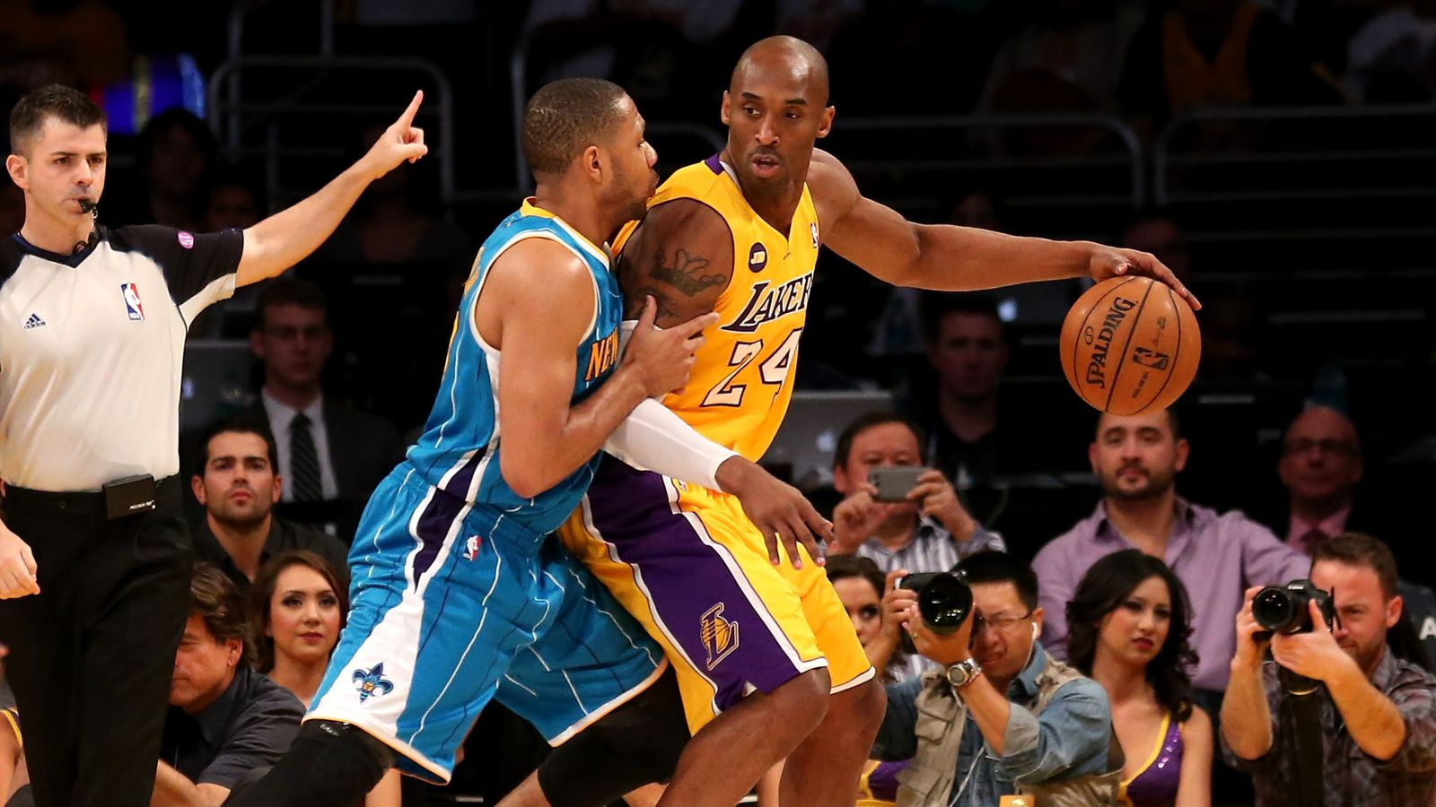 Hornets Vs Lakers Recap Lakers Take Eighth Seed With Big
