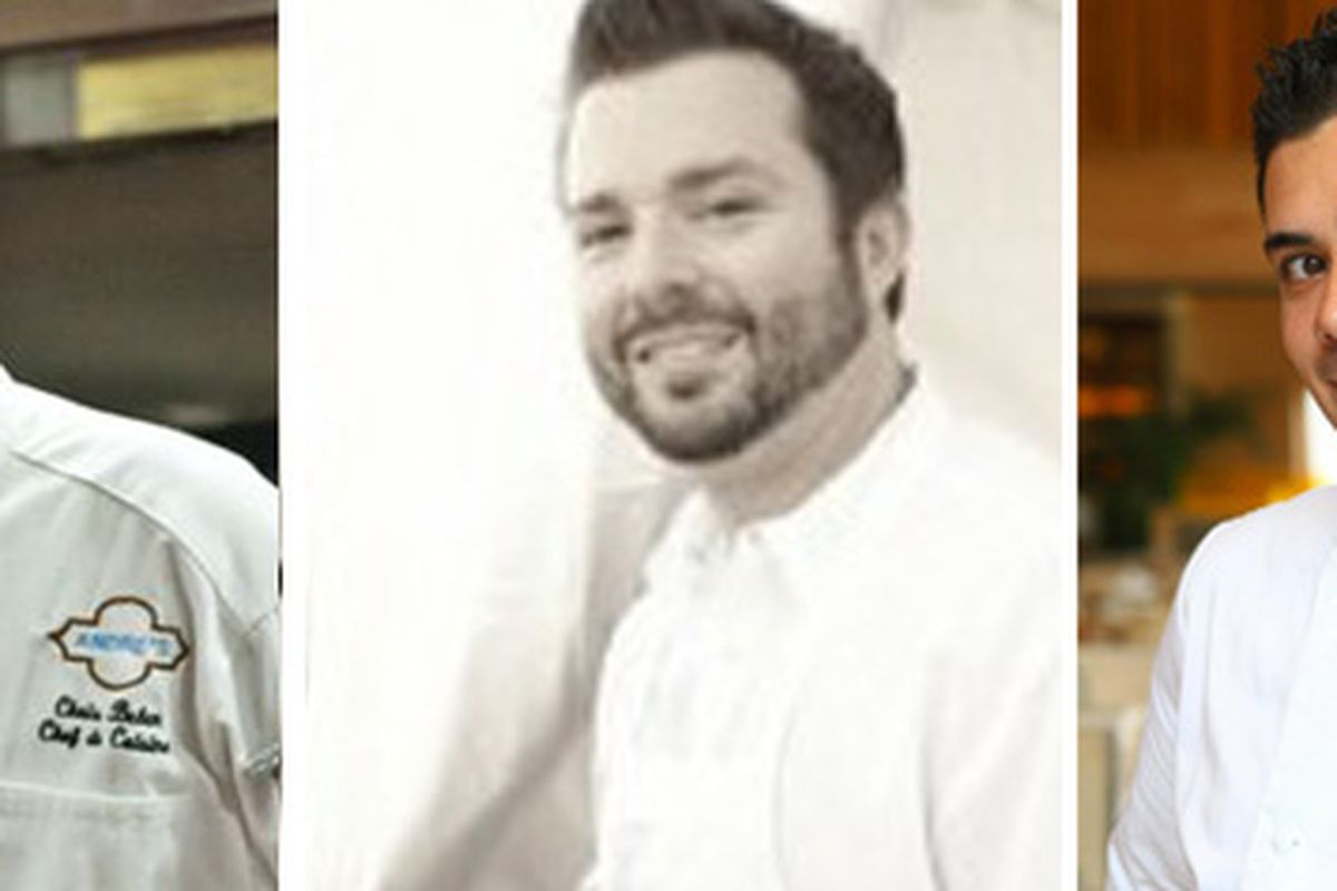 Chris Bulen, Josh Smith and Todd Harrington