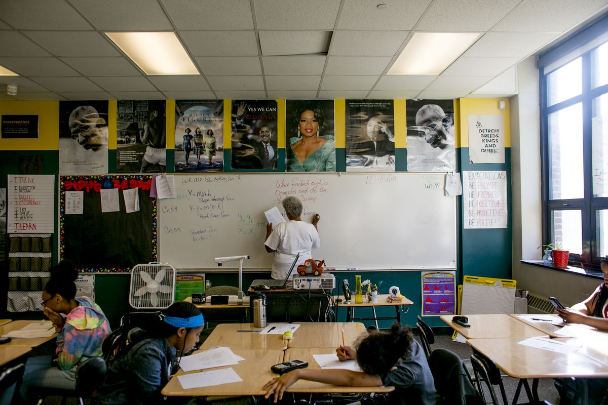 """A settlement has been reached in the historic """"right to read"""" lawsuit that was filed in 2016 on behalf of Detroit schoolchildren."""