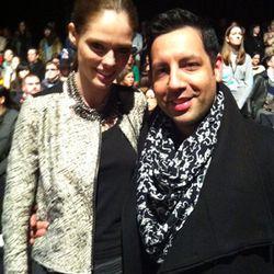 Coco Rocha and her husband, James Conran.