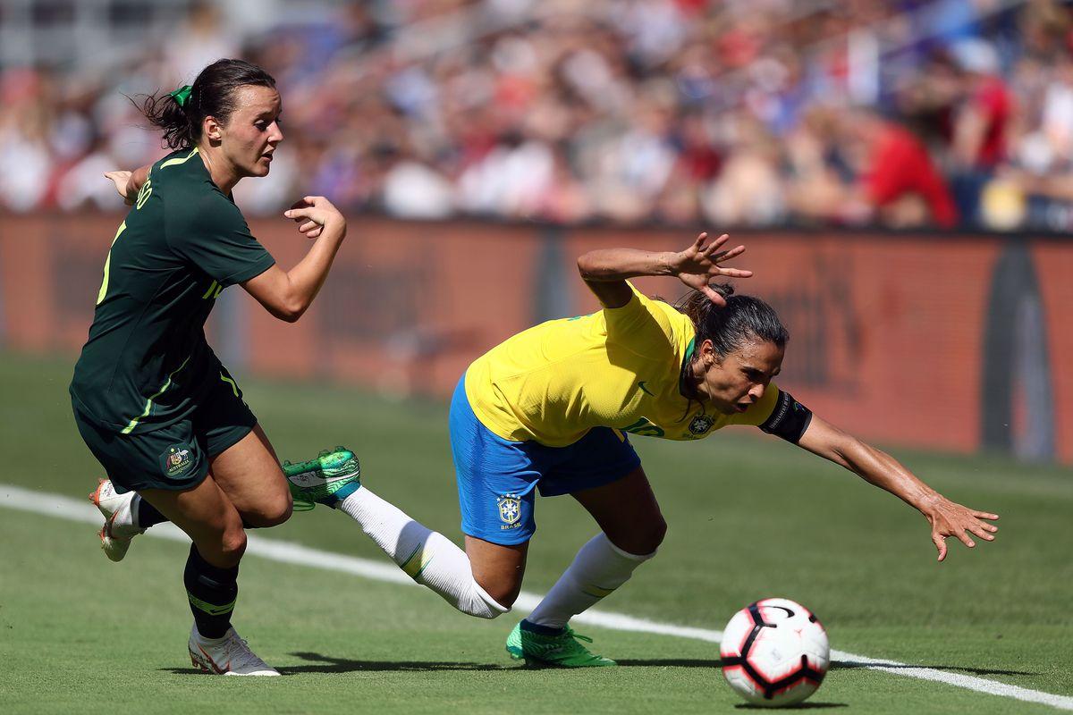 2018 Tournament Of Nations - Australia v Brazil
