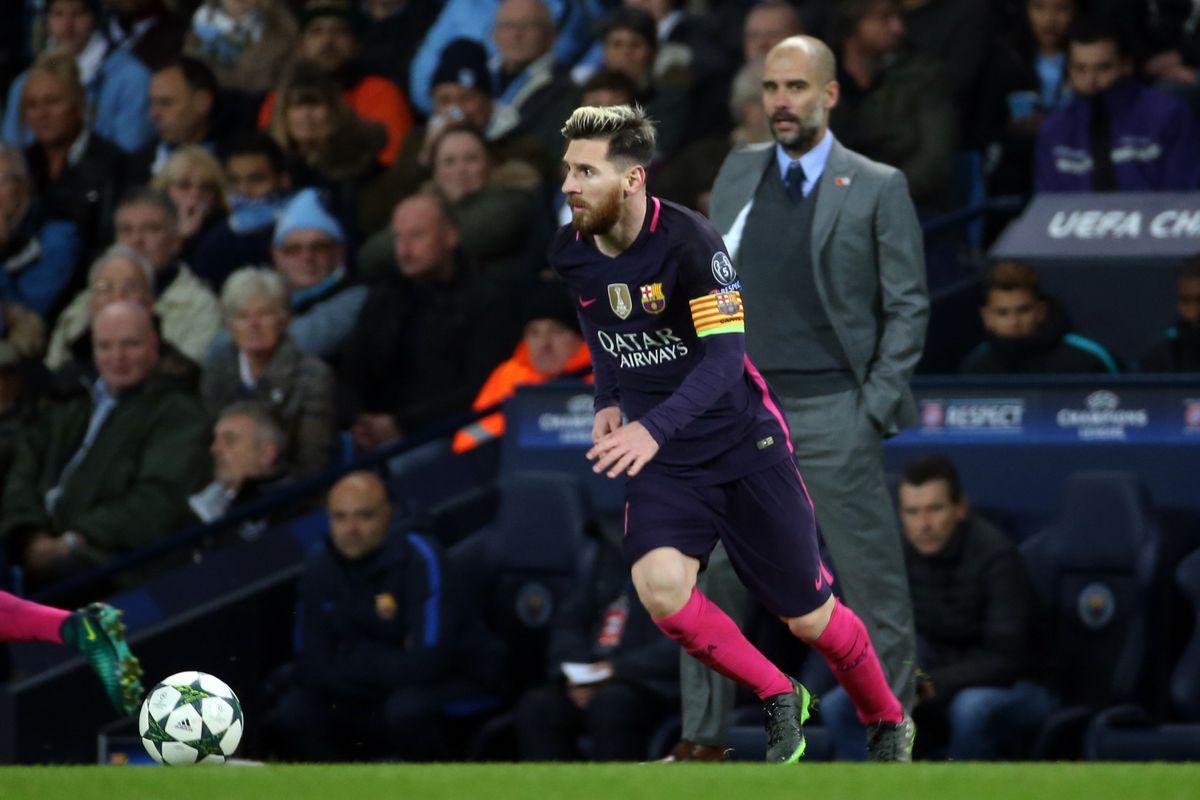 Manchester City v Barcelona - UEFA Champions League - Group C - Etihad Stadium
