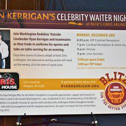 Celebrity Waiter Night