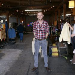 Flea market organizer Casey Dady tells us the a farmers market may potentially open across the street, which will bring more friendly neighborhood vibes to the Arts District.