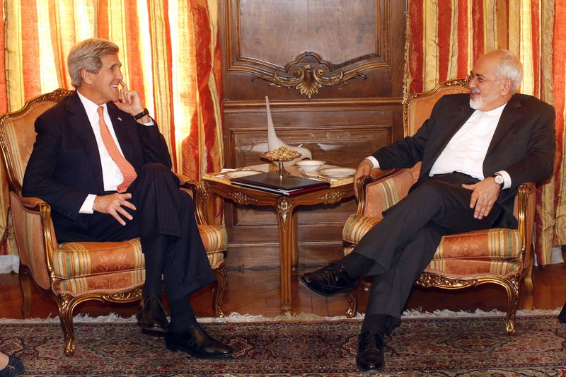 Kerry Meets With Iranian Foreign Minister At UN