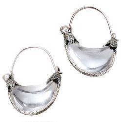 "Cypriot Rock Crystal Earrings, <a href=""http://store.metmuseum.org/earrings/cypriot-rock-crystal-earrings/invt/cypriotrockcrystal#.U2o7RcdSn2c"">$130</a> at <b>The Metropolitan Museum of Art</b>"