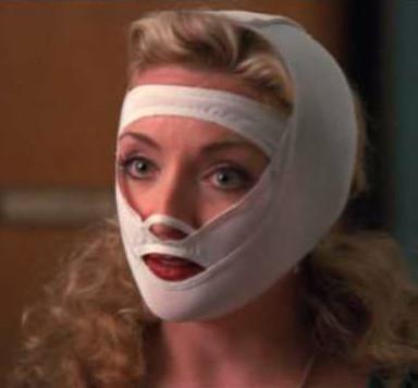 Elaine in the Face Bra