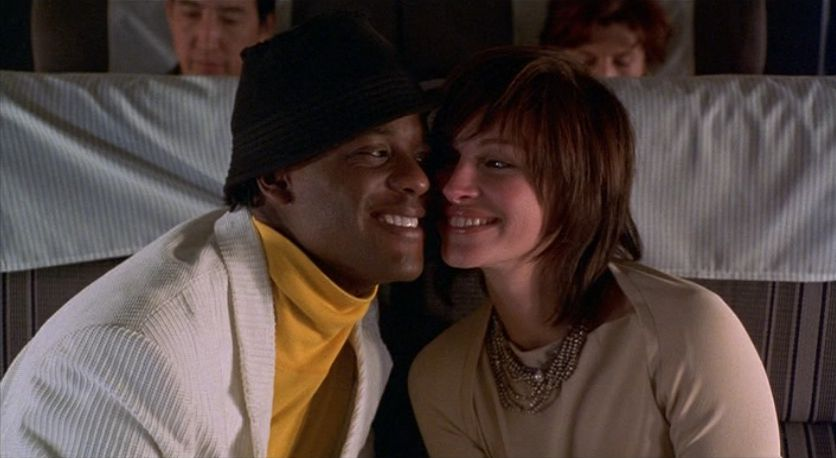 Blair Underwood and Julia Roberts in 'Full Frontal'