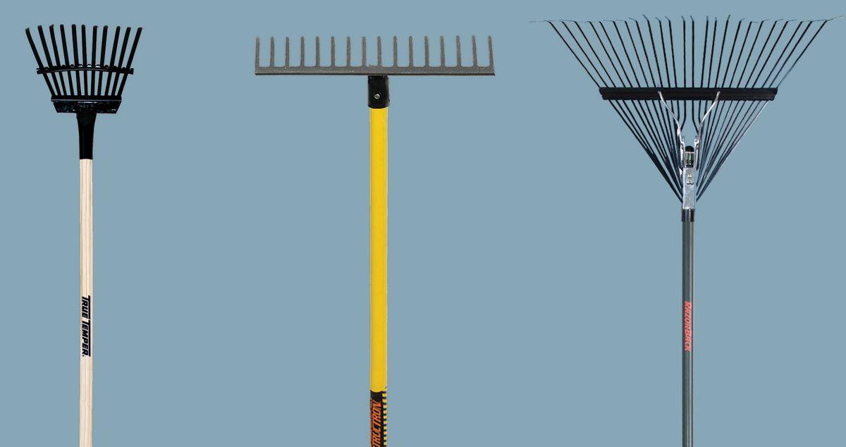 Fall 2021 Landscaping, Fall prep, 3 types of rakes
