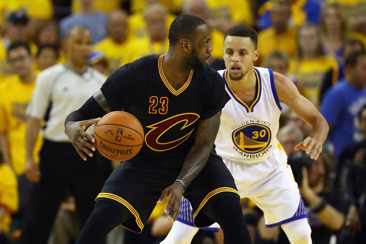 e8269bf56fab The Warriors dared LeBron James and Kyrie Irving to play hero ball ...