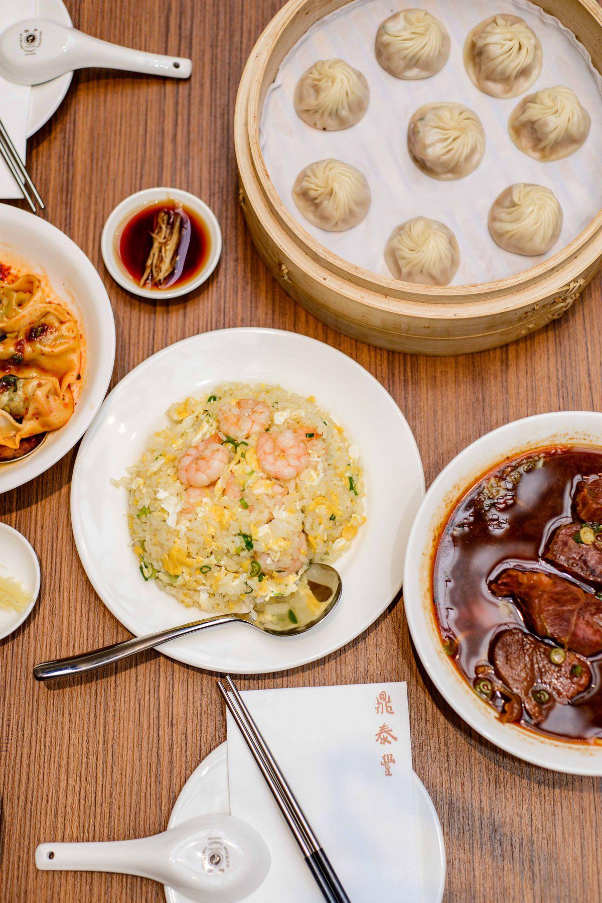 Din Tai Fung's xiaolongbao dumplings are now on the menu in Covent Garden London