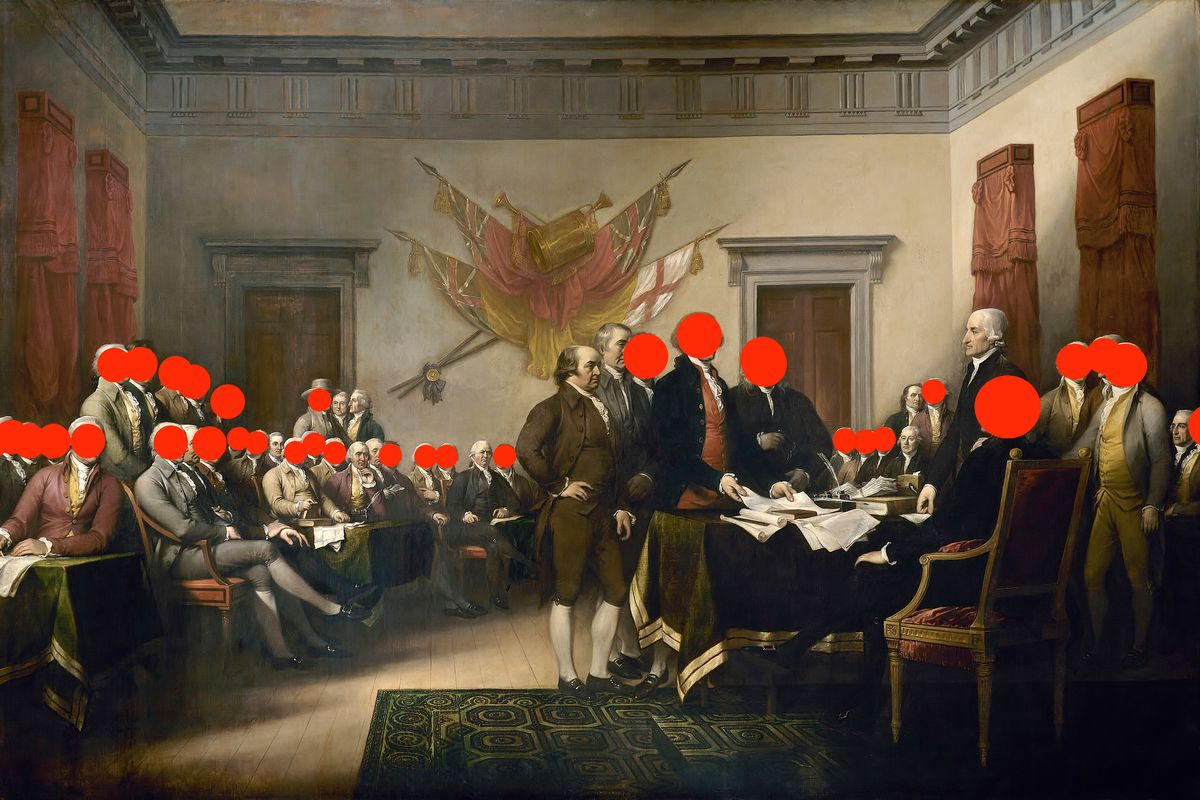 Fact-check on Arlen Parsa's take on slave owners in John Trumbull's Declaration of Independence painting
