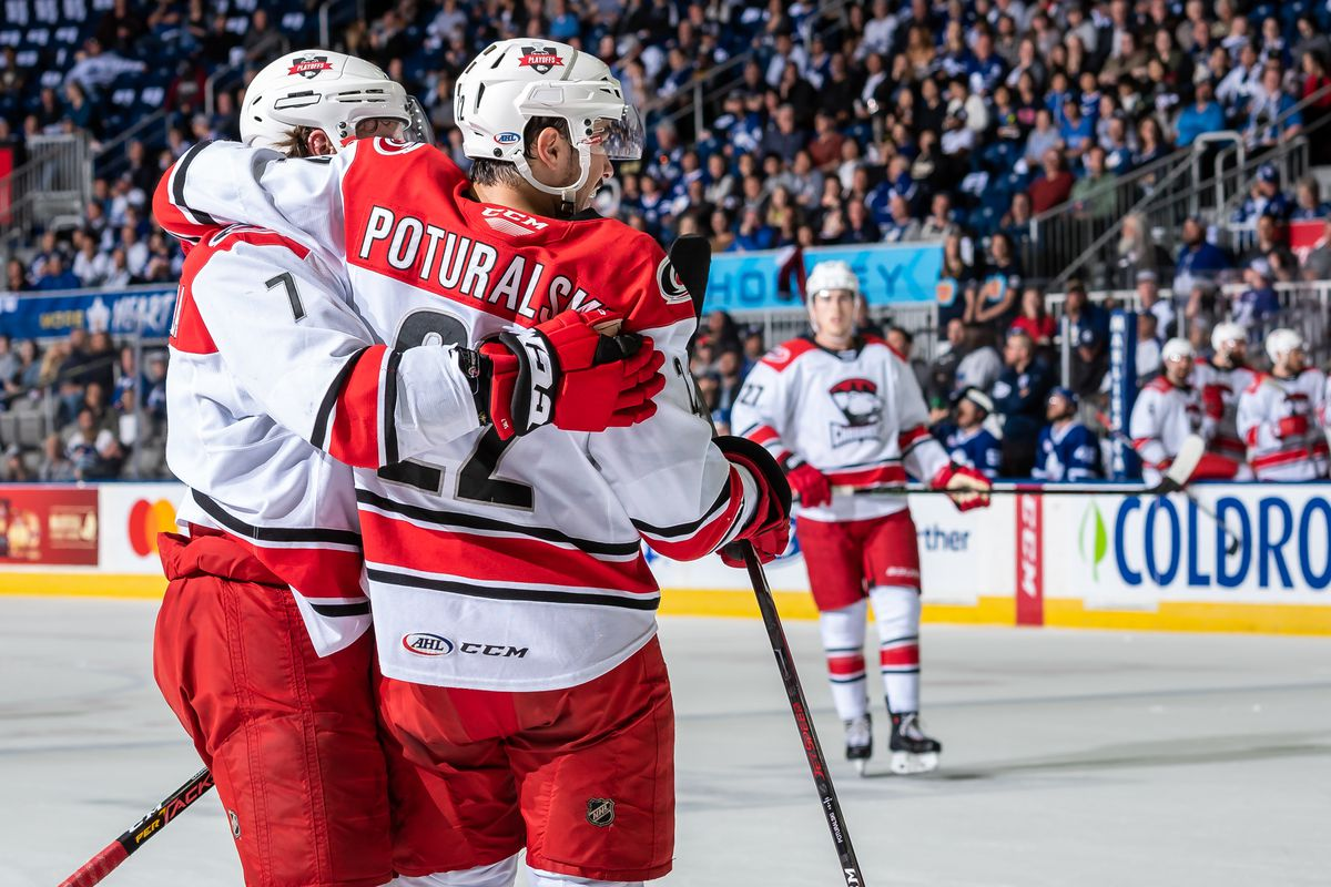 Marlies overwhelmed by Checkers, trail Conference Final 2-1