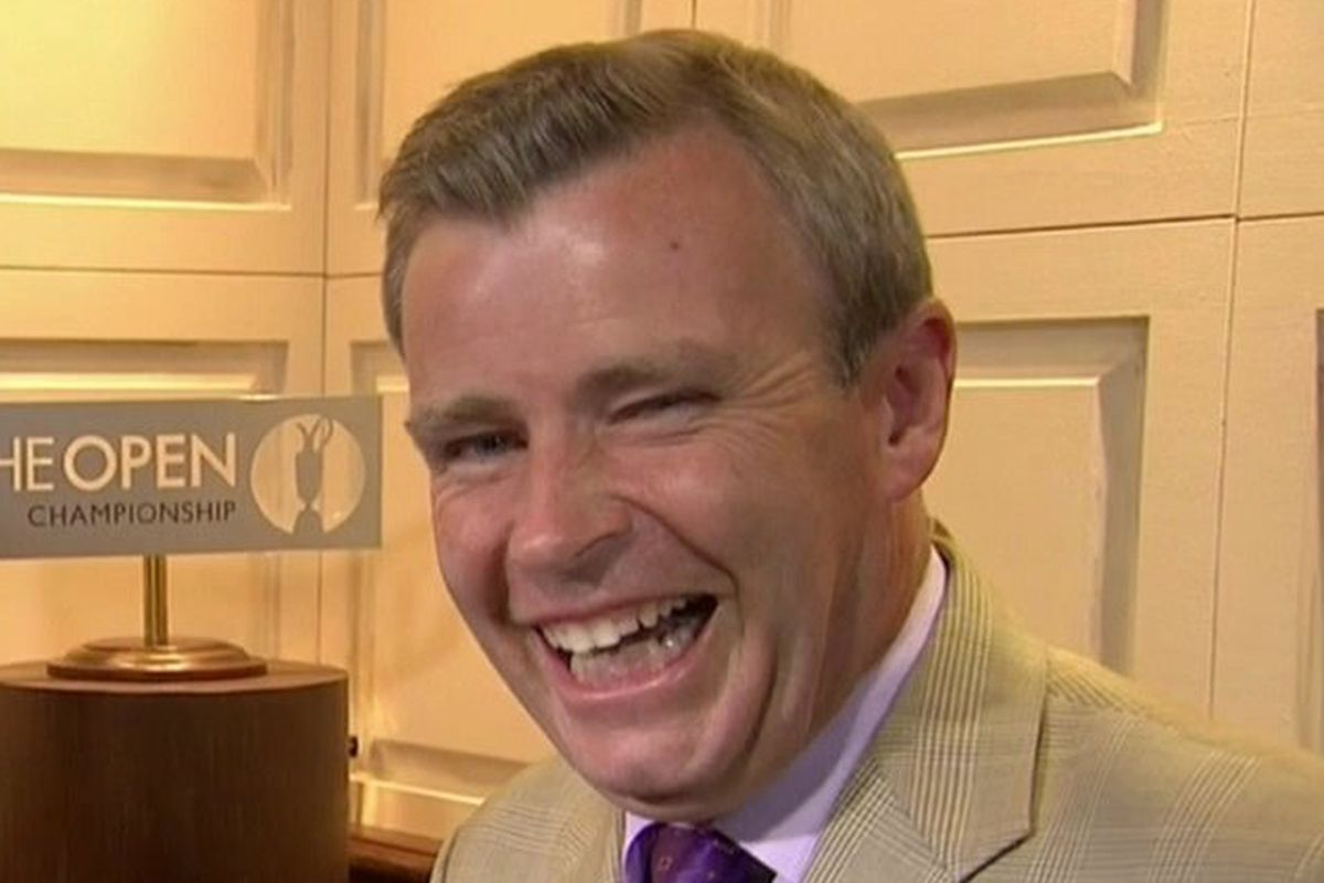 tom rinaldi reacts to crucial british open moments