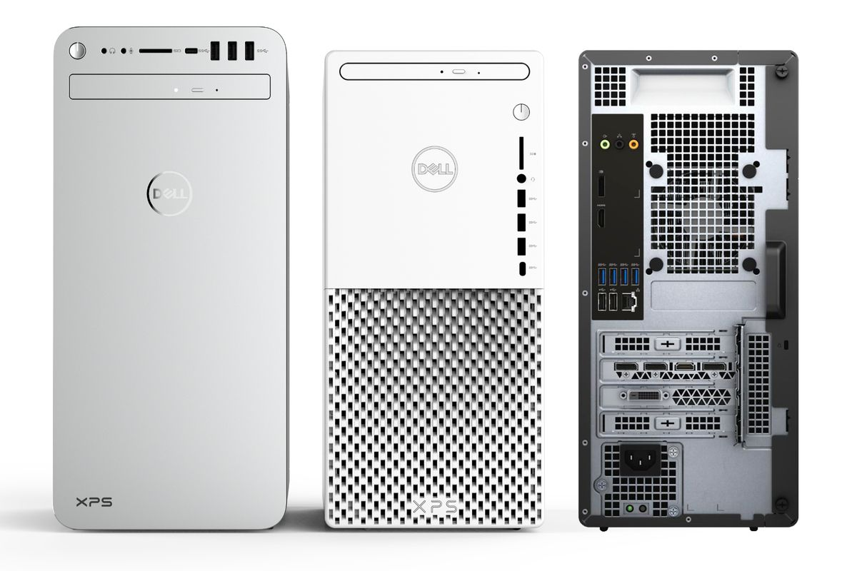 Dell's new XPS desktop has a refreshed design and Intel's 10th Gen processors