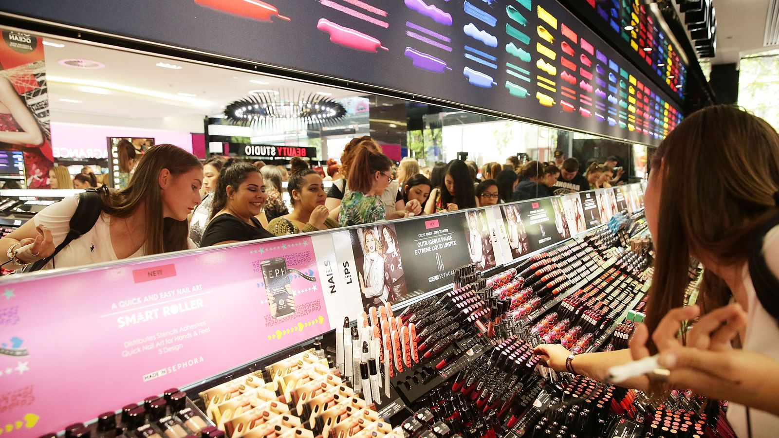The Fall of the Department Store Makeup Counter