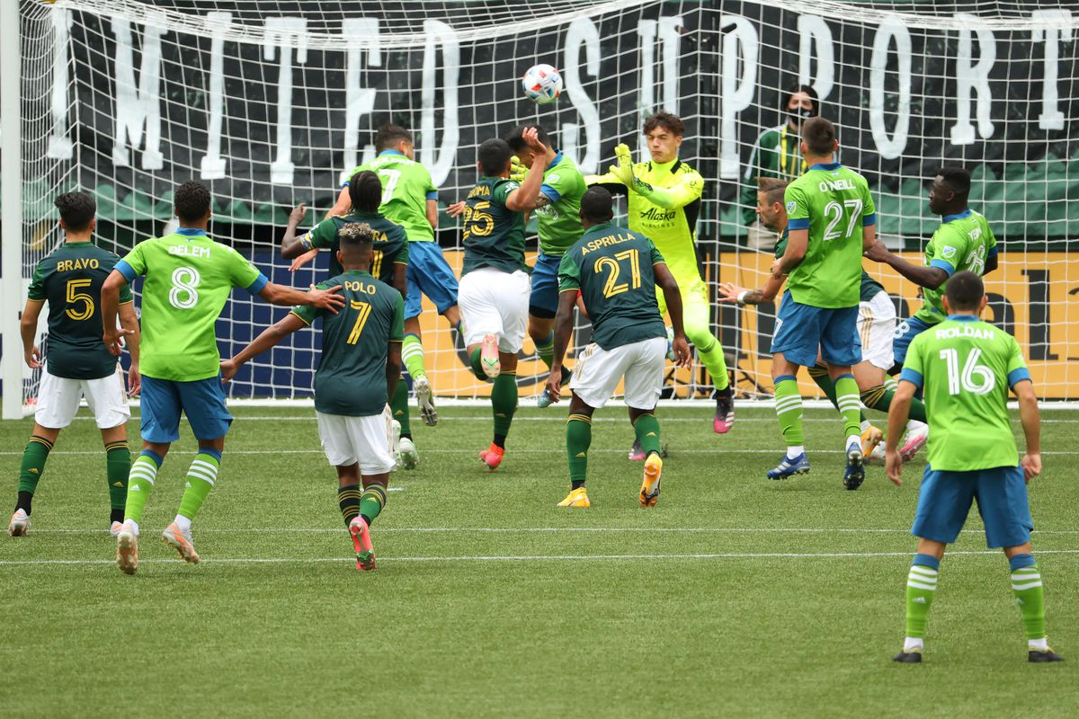 Seattle Sounders FC v Portland Timbers