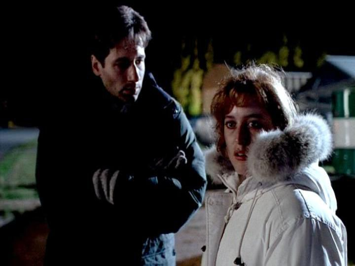 Mulder and Scully in the Arctic.
