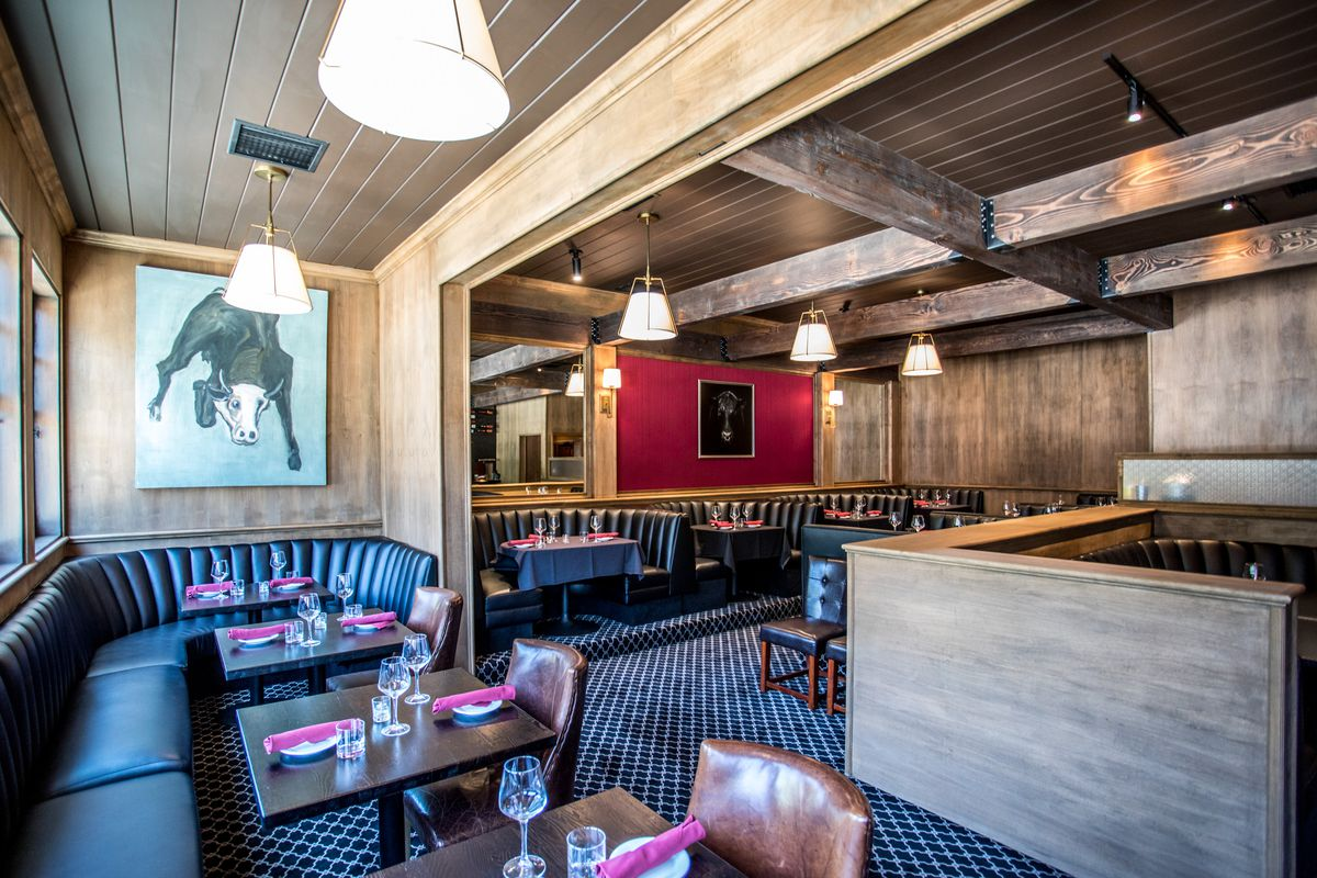 Classic Santa Monica Steakhouse Golden Bull Reopens With