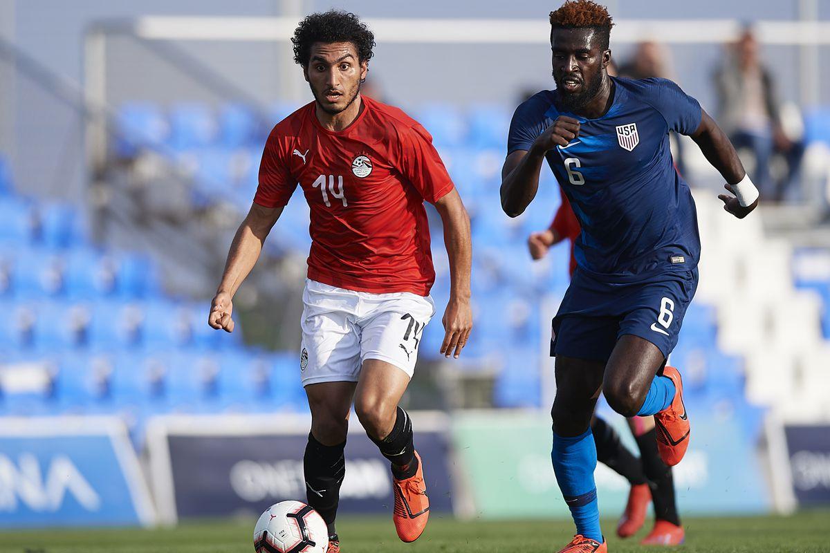 United States of America U23 v Egypt U23 - International Friendly