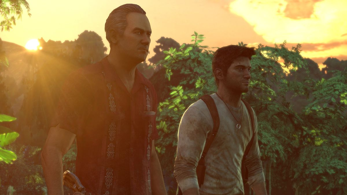 Nate and Sully in Uncharted Drake's Fortune