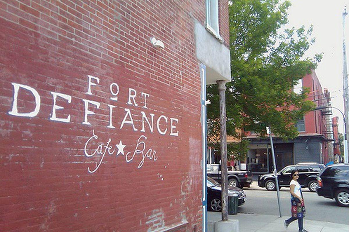 Fort Defiance Signage