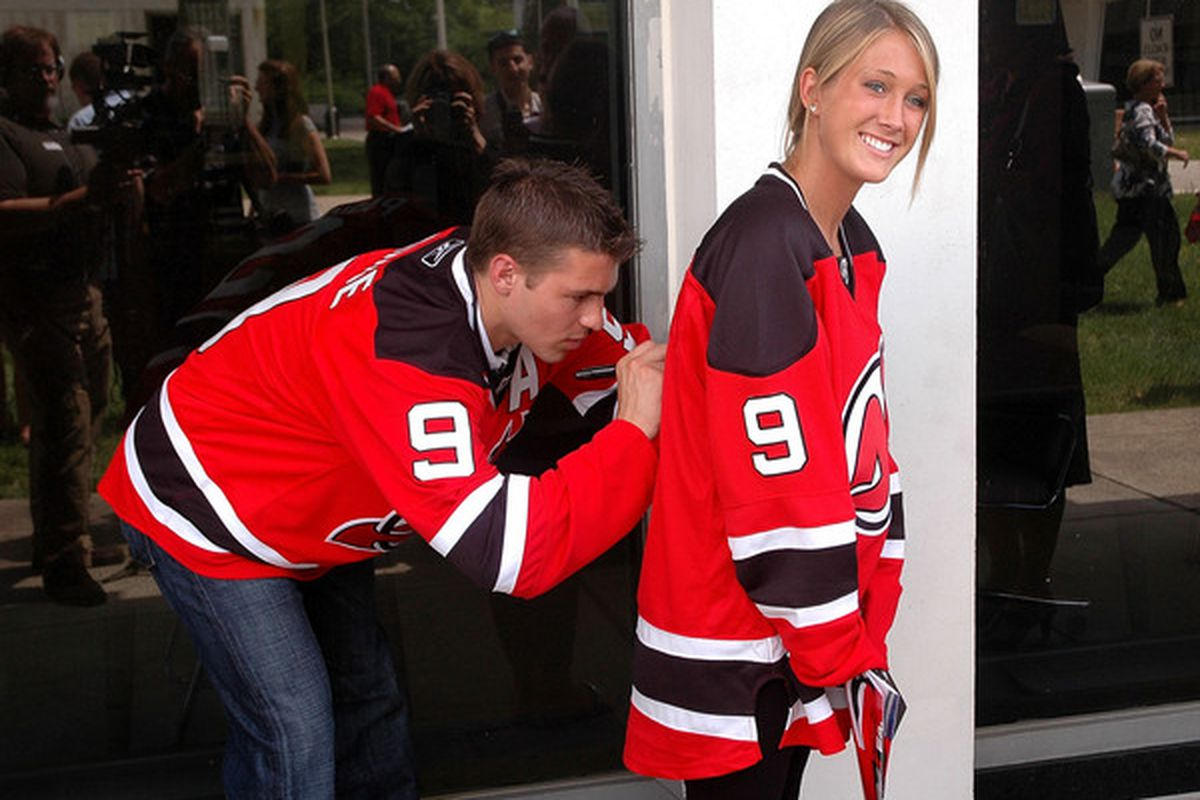 Someone told us Parise is in this picture. We're unconvinced.