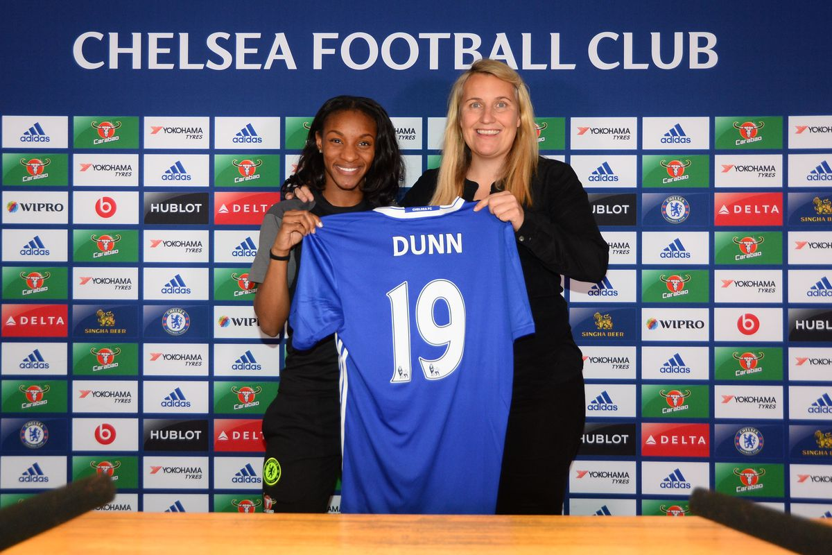Chelsea Ladies Unveil New Signing Crystal Dunn