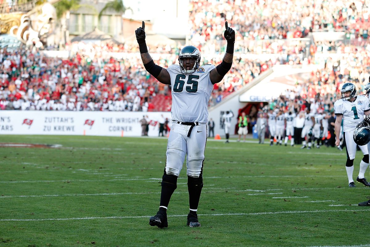 Former Eagles Offensive Tackle Retires Bleeding Green Nation