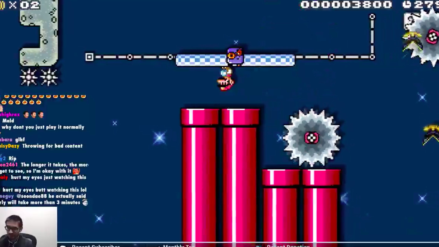 Super Mario Maker 2 master makes horrifying upside-down
