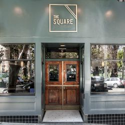 All paths lead to <strong>The Square</strong>, 1707 Powell Street on Washington Square. Photo by Patricia Chang.