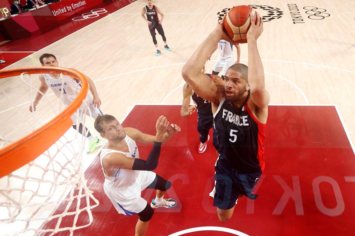 France v Czech Republic Men's Basketball - Olympics: Day 5