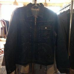 Denim jacket, $110