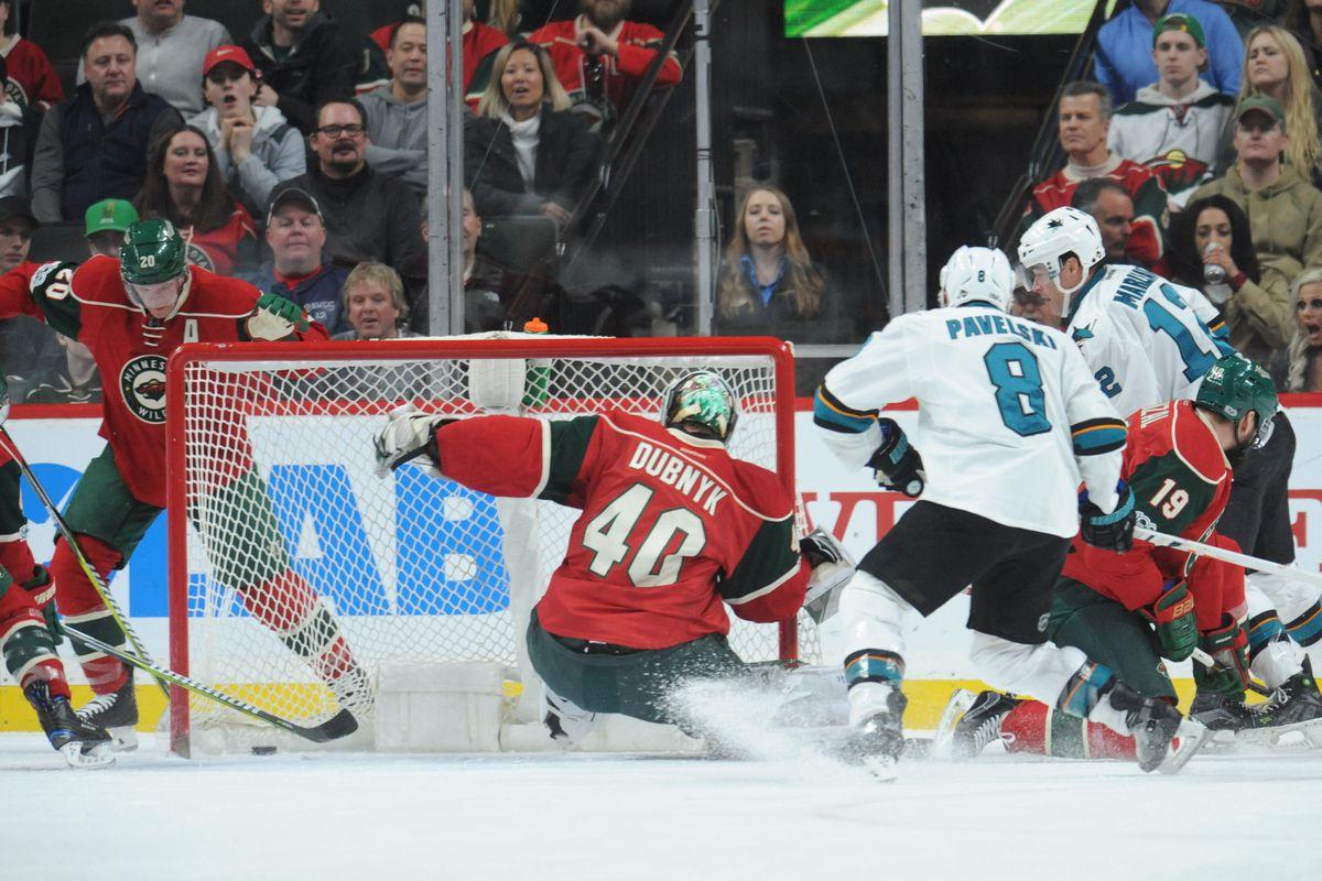 NHL: San Jose Sharks at Minnesota Wild