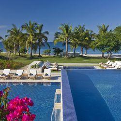 The grown-up pool at the St. Regis Punta Mita Resort
