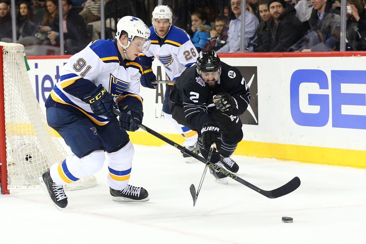NHL: St. Louis Blues at New York Islanders