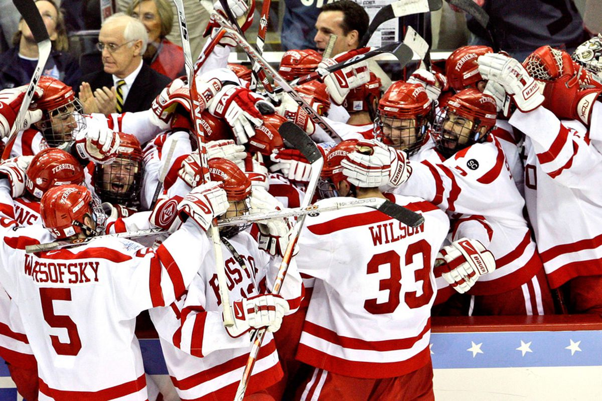 All NCAA photos will feature BU so as to please our overlord.