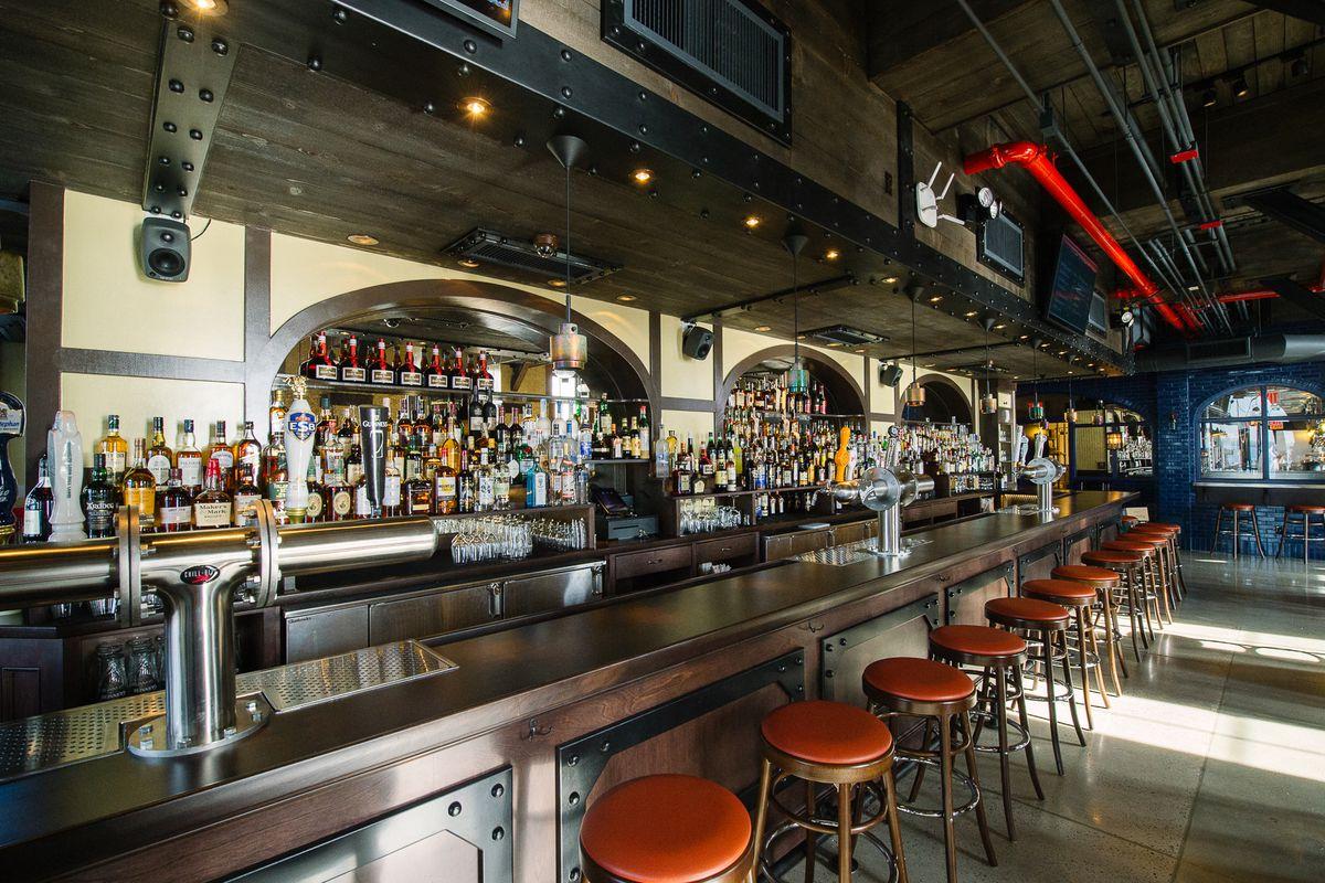 [The bar at Pier A Harbor House