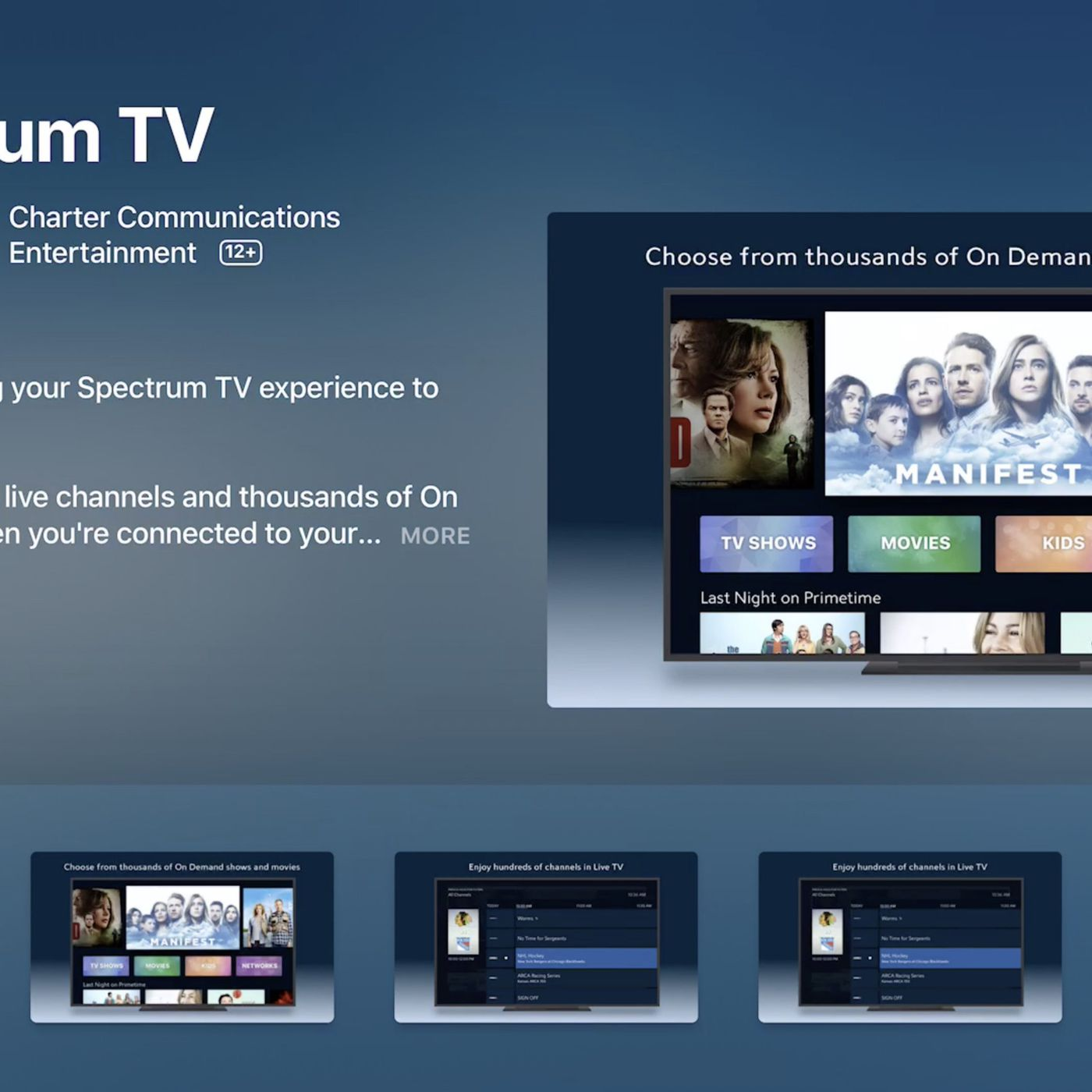 Spectrum Has A Streaming Service That S Basically Its Cable Package For 15 A Month The Verge