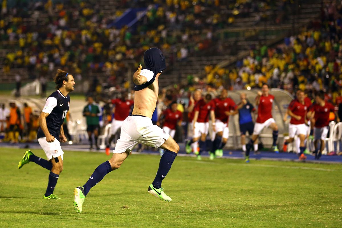United States v Jamaica - FIFA 2014 World Cup Qualifier