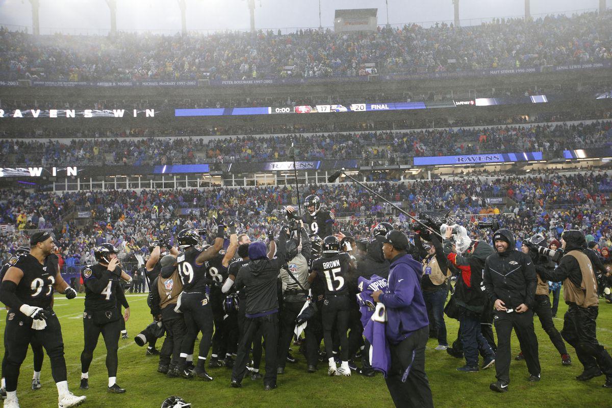 San Francisco 49ers v Baltimore Ravens
