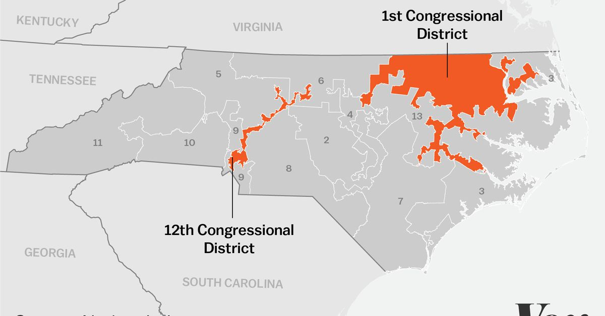 Map Of Georgia 12th Congressional District.Democratic Gerrymanders Are Hard To Do Vox
