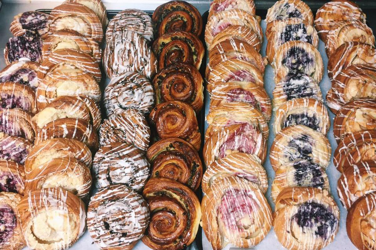Pastries from Quack's