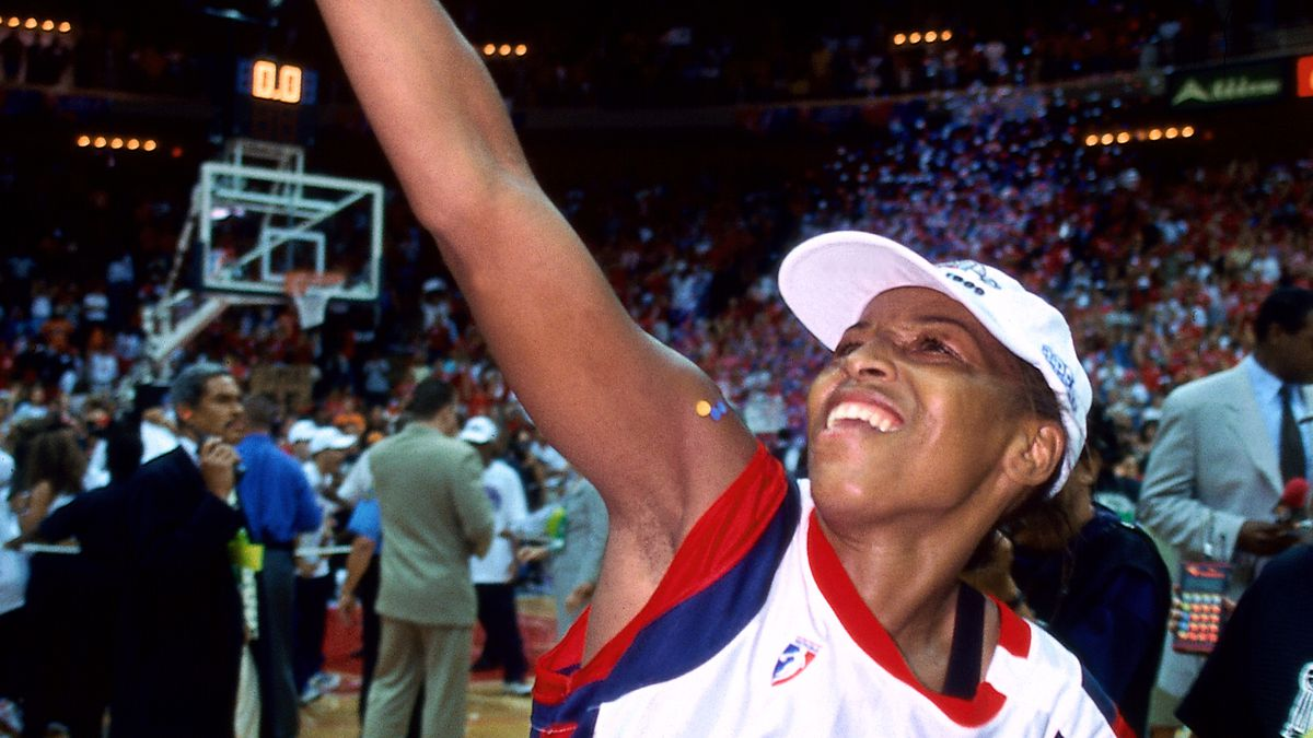 1999 WNBA Finals - Game Three: New York Liberty v Houston Comets