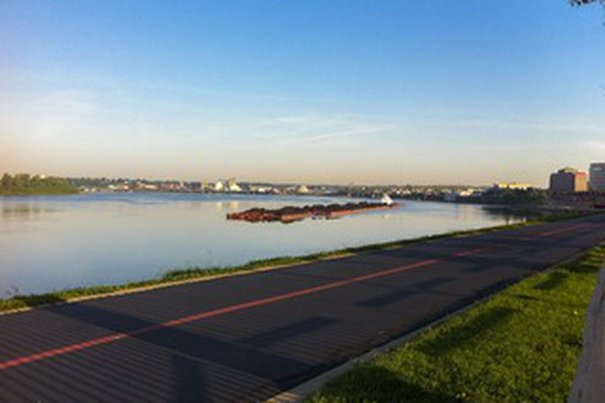 The Riverfront in Evansville, Indiana